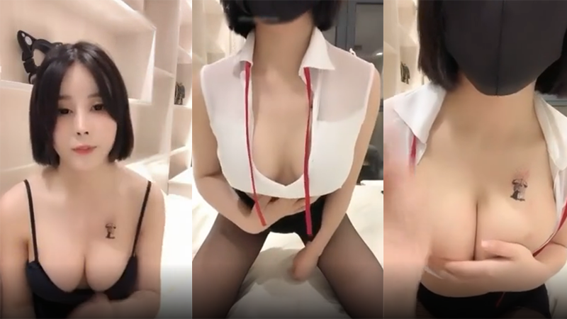 ZB熊貓TV主播美娜醬BABY意淫被爸爸内射