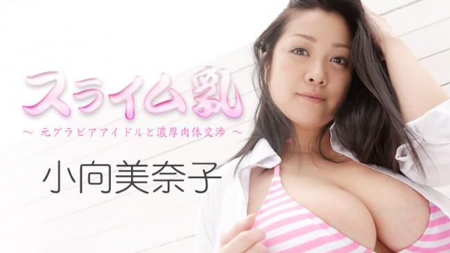 スライム乳元グラビアアイドルと濃厚肉体交渉小向美奈子 HEYZO -1261